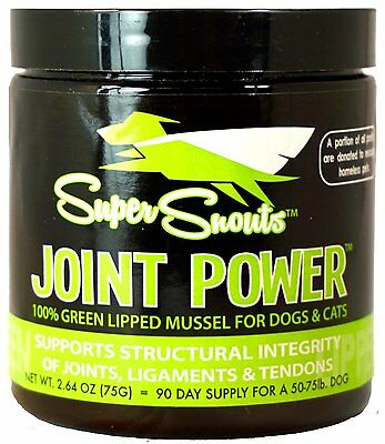 Super Snouts Joint Pain Power For Dogs Hip Glucosamine Supplements Dog 2 64Oz