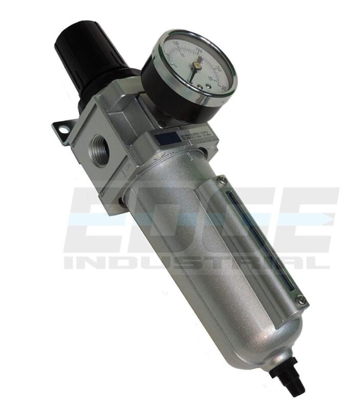 HEAVY DUTY FILTER REGULATOR COMBO FOR AIR COMPRESSED COMPRESSOR PNEUMATIC, 1/2""