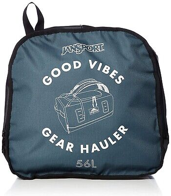 Jansport Good Vibes Gear Hauler Duffel Blue 56L
