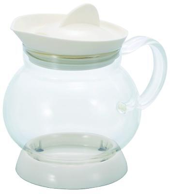 Hario Jumping Tea Server Off White Teapot 350ml JTS-35-OW fr