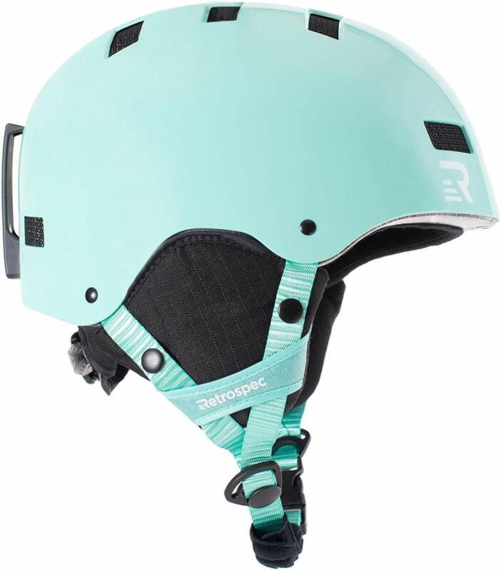 ski and snowboard helmet convertible to bike