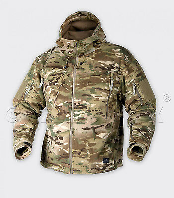 Angelsport HELIKON TEX PATRIOT HEAVY FLEECE Outdoor Kapuzen JACKE Jacket camogrom XXL Jacken & Mäntel