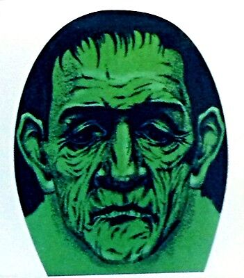 Sheer Morph Scary LEPRECHAUN ELF MASK Frankenstein Monster Cosplay Costume-GREEN