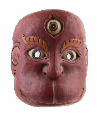 Mask Tibetan Hanuman Monkey Wood Himalayas-Animist Shaman Tibet Nepal 26611