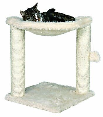 Trixie Baza Cat Tree Furniture Pet Bed House W/ Toy Scrat...