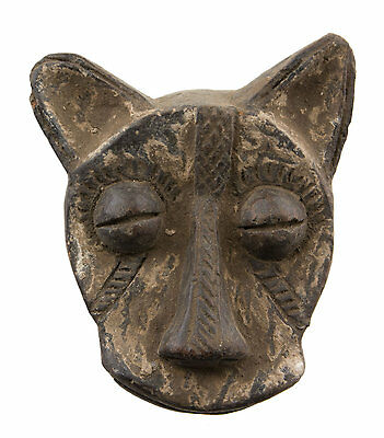 Mask African Passport Miniature Divination Zoomorphic Fetish 6492 B4MB