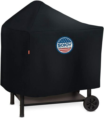 Sojoy Barbecue and Grill Cover for Weber Performer Deluxe Charcoal Heavy Duty