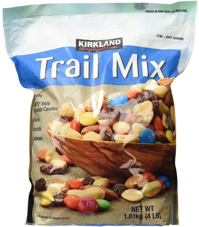 Kirkland Signature Trail Mix Ideal Snack Food 4 Lb Ebay