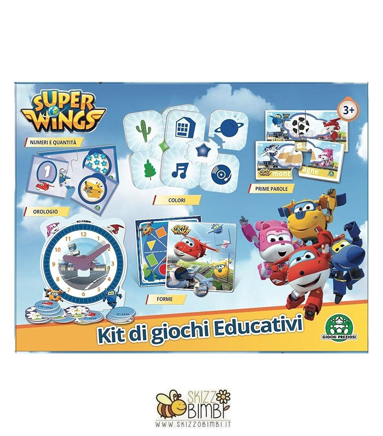 Super Wings Set Di Giochi Educativi