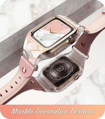 For Apple Watch 5 4 3 2 1, i-Blason New Wristwatch Case w/ Adjustable Strap Band