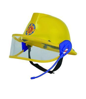Sam Helm In Gelb 23 Cm HüTe Kopfbedeckungen Verkleiden (Feuerwehrmann Verkleiden)