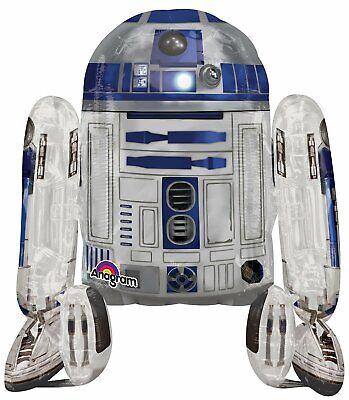 Star Wars, R2D2, Airwalker, Folienballon 86 x 96 cm NEU & OVP