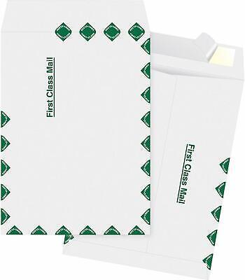 Tyvek 1st Class Envelopes 9 X 12 Tyvek Envelopes Easy-peel. 10 Each.