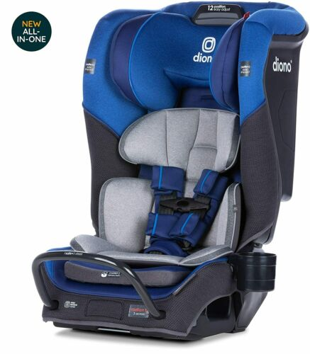 Diono Radian 3QX All-In-One Booster Child Safety Car Seat Blue Sky NEW