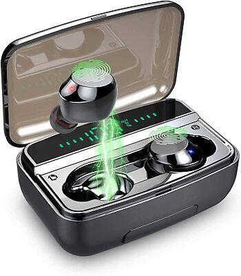 Wireless Earbuds, Bluetooth 5.0 Earphones IPX7 Waterproof Noise Cancelling in-Ea
