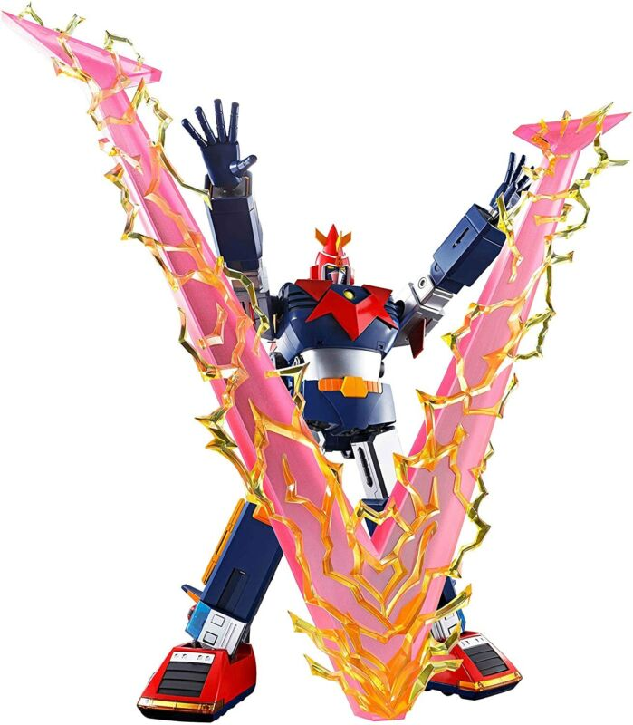 Bandai Spirits DX Soul of Chogokin VOLT IN BOX Voltes V 360mm Action Figure