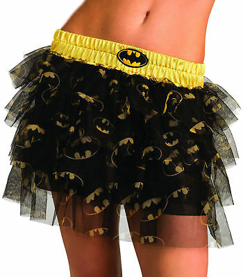 Batgirl Tutu Skirt for Teens (dress size 2-6) by Rubies 887910 NEW](Teen Batgirl Costume)