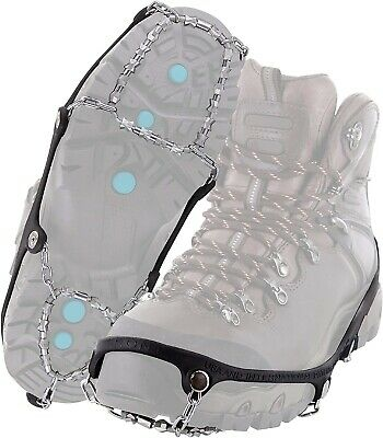 Yaktrax Diamond Grip All-Surface Traction Cleats for Walking on Ice Snow Medium