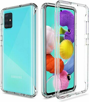 For Samsung Galaxy A51/A71 4G/5G Clear Case Crystal Shockproof Soft TPU Cover Cases, Covers & Skins