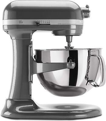 KitchenAid KP26M1XPM 6 Qt. Professional 600 Series Bowl-Lift Stand Mixer - Pearl