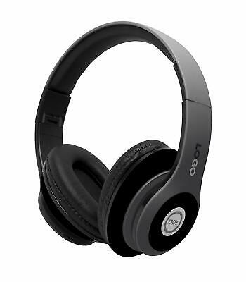 Black Matte Finish Premium Rechargeable Wireless Headphones