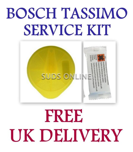 Bosch Tassimo Service Cleaning Disc & 2 Descaling Tablets TAS65