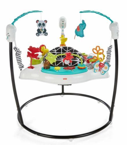 Fisher-Price Jumperoo: Animal Wonders Baby Swing Jumper Exercise 3DAYSHIP