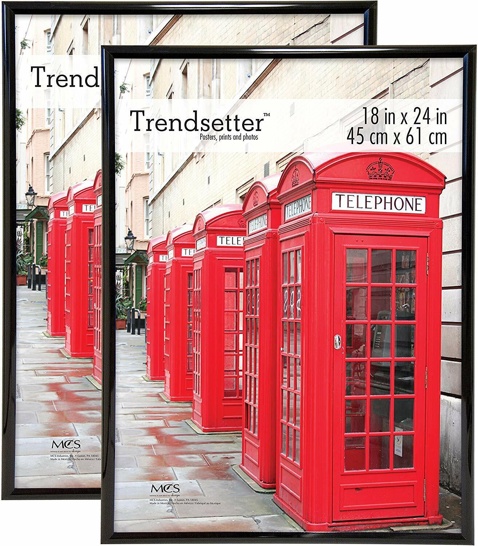 MCS Trendsetter 18x24 Inch Poster Frame , Black