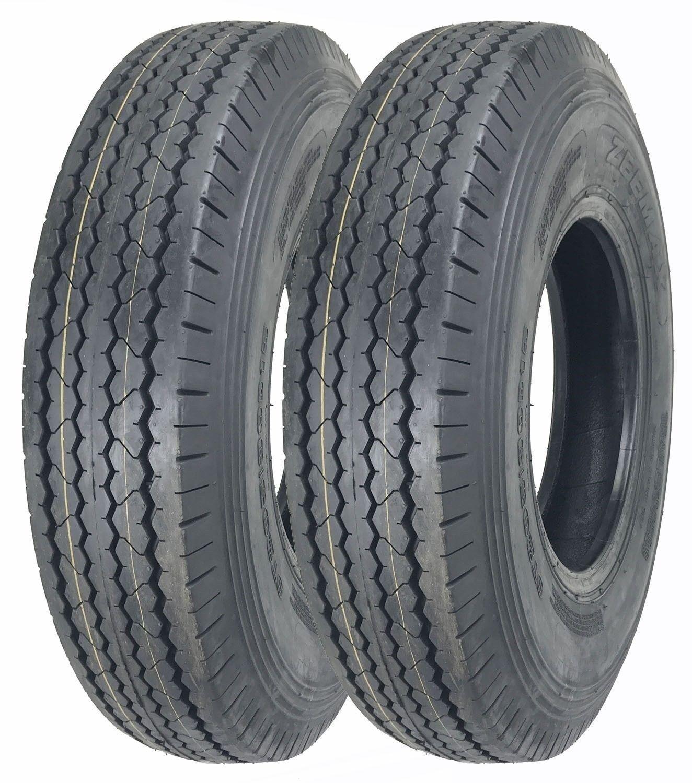 2 New Zeemax Heavy Duty Trailer Tires ST205/90D15 / 7.00-15 Bias 10 PR - 11024