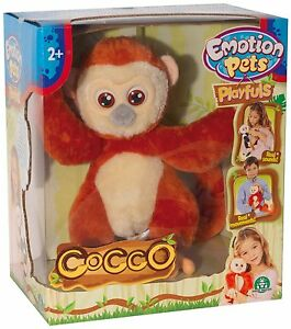 Emotion Pets Playfuls Cocco The Monkey Interactive Pet