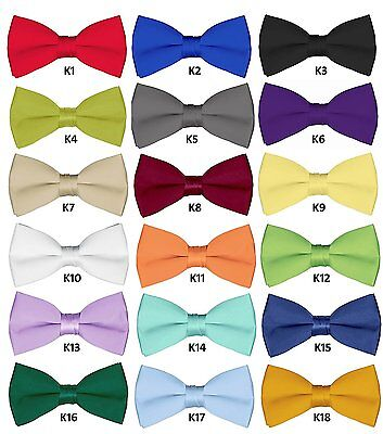 Mens Wedding Bowties 6 Pcs Wholesale Bow ties for Adult Solid Pretied Bowties](Adult Wholesale)