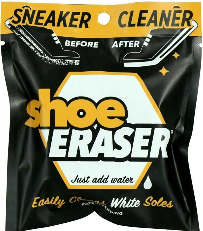 NEW Sneaker Cleaner SHOE ERASERClean White Soles - Just Add Water - Brand New
