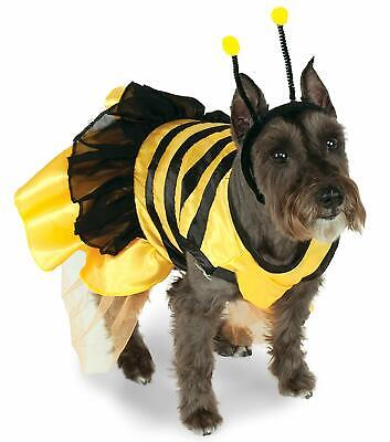 Bumble Bee Dog Costume - L or XL - Dress & Headpiece - Summer or Halloween - NWT (Bumble Bee Costumes For Dogs)