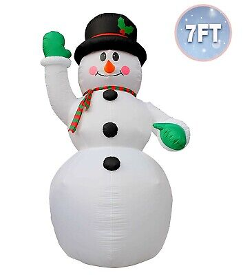 Christmas Inflatables Outdoor ( 7 Ft Inflatable Christmas Snowman Decoration Inflatables )