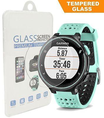 5X Tempered Glass Screen Protector Fit Garmin Forerunner 225/220/230/235/620/630