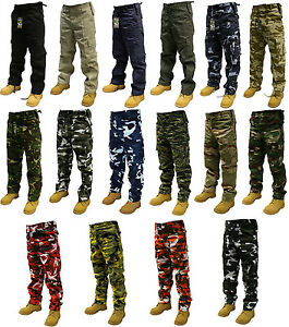 ARMY-CARGO-CAMO-COMBAT-MILITARY-TROUSERS-PANTS-30-50-WAIST-32-30-LEG