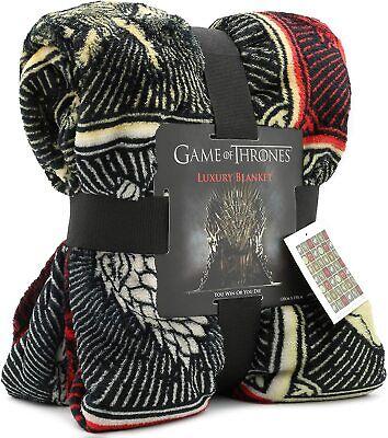 Juego de Tronos Regalos Merchandise GOT Manta suave para cama Stark Lannister