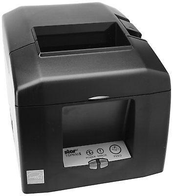 Star Micronics Tsp654iiu Usb Thermal Receipt Printer-gray