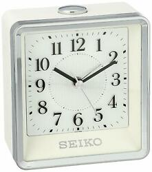 Seiko QHE142WLH Contemporary Bedside Alarm Clock with Flashing El Dial