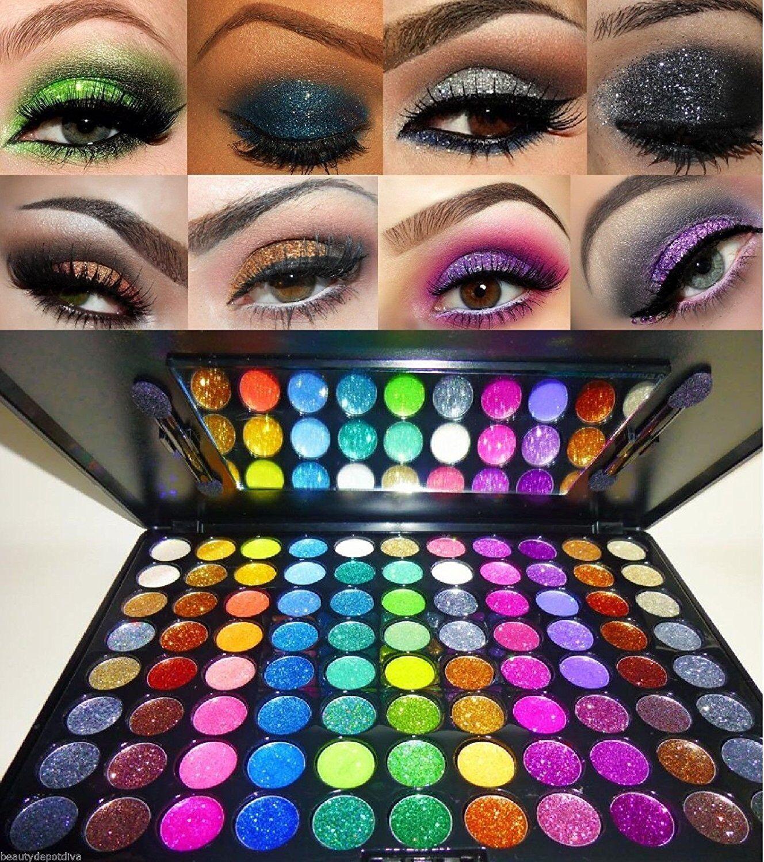Beauty Treats 88 PRO Glitter Cream Color Eye Shadow Makeup E
