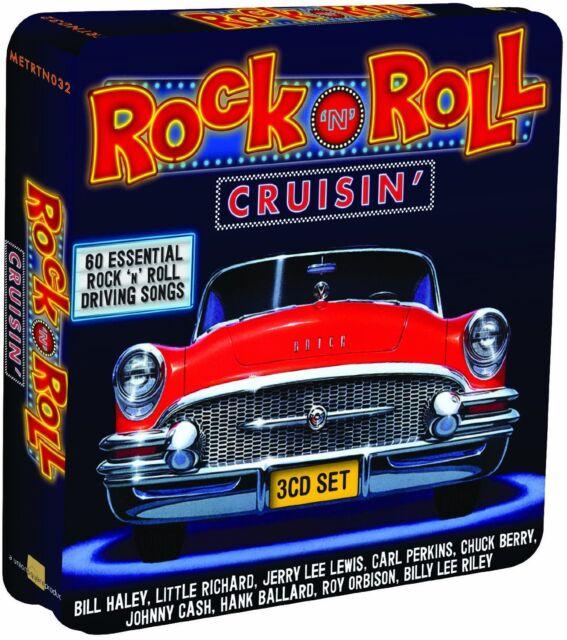Rock 'N' Roll Cruisin' 3-CD Metal Box NEW SEALED Bill Haley/Little Richard+