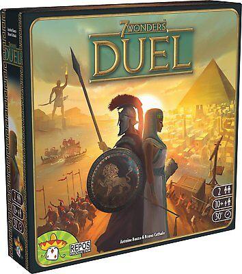7 Wonders Duel Stand Alone 2 Player Board Card Game Asmodee ASM SEV07 Card