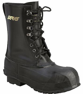 Steel Toe Pac Boots - Ranger Sz 8 Steel Toe Leather & Rubber Double-Insulated Pac Boots Mens New