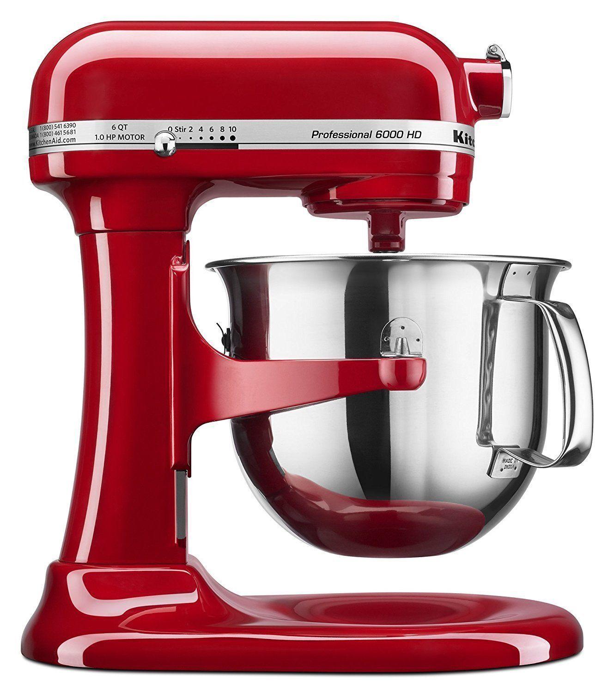 KitchenAid Professional KSM6573CE 325W Stand Mixer - Red | eBay