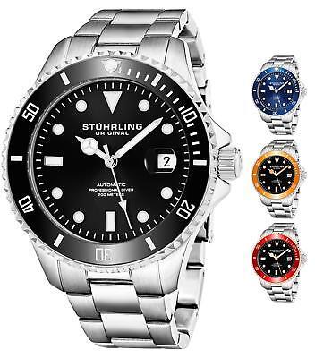 Stuhrling 792 Automatic Self Wind  Professional Divers Sport Dress Watch 200 ATM