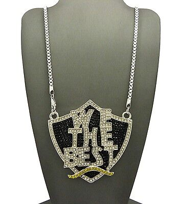 Hip Hop Iced Out We the Best Pendant 3mm 30