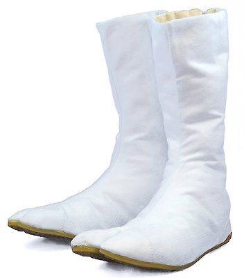 Zapatos/Shoes - Tabi Ninja/Botas Japonesas Blancos - Directo de Japón!!