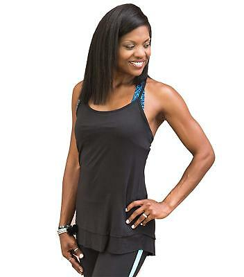 Sienna Tank (Gaiam Women's Sienna Tank, Black, Medium)