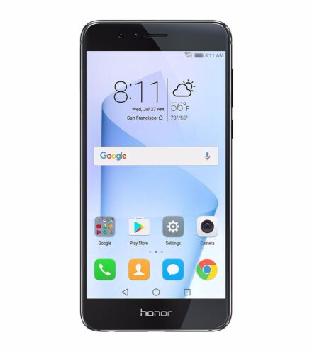 Huawei Honor 8 Dual Camera Unlocked Smartphone 32GB+4GB Midnight Black