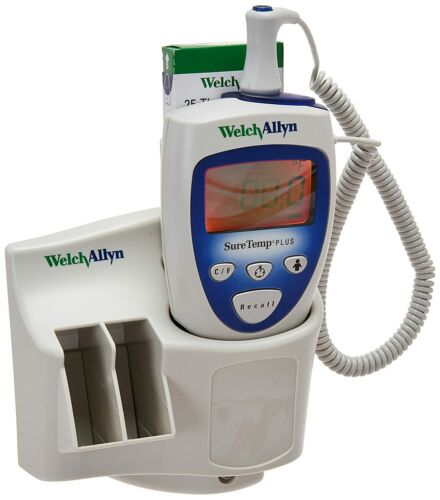 WELCH ALLYN SURETEMP PLUS 692 ELECTRONIC THERMOMETER PROBE 690 WALL MOUNT*NEW*UK